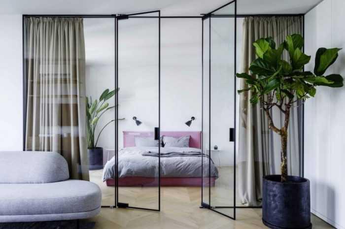 Зонирование спальни: правила разделения и создания пространства. Плюсы и минусы возможных вариантов