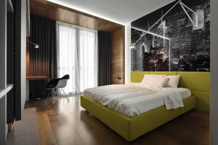 Дизайн спальни: фото примеры с описанием стилей оформления и сочетания цветовых оттенков в интерьере