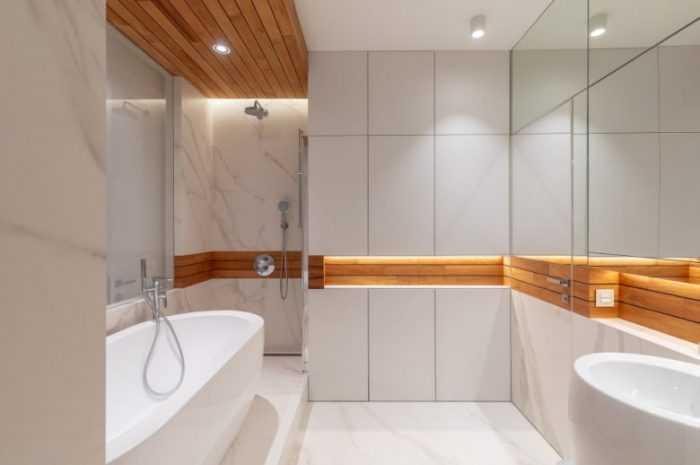 Дизайн ванной комнаты: современные идеи по обустройству, отделке, расстановке мебели
