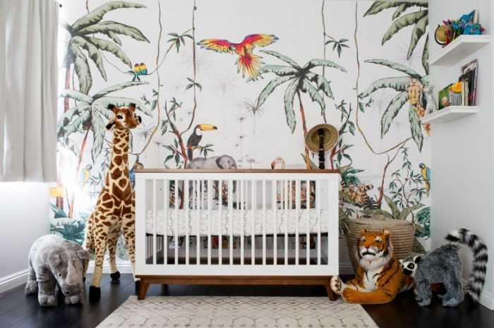 Фотообои для детской комнаты: правила выбора, рекомендации по совмещению, фото и видео советы для комнаты мальчика и девочки