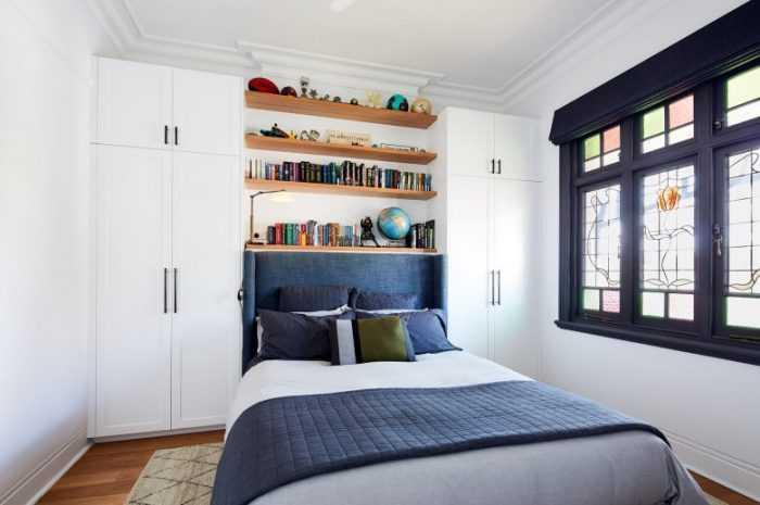 Гардеробная в спальне: лучшие способы размещения, фото вариантов гардеробных в различных стилях интерьера