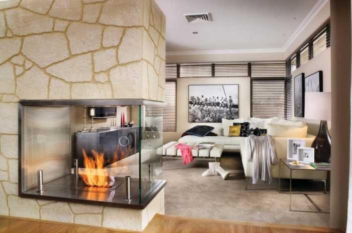 Уютная гостиная с камином: фото лучших решений для интерьера. Описание видов камина с рекомендациями по их размещению