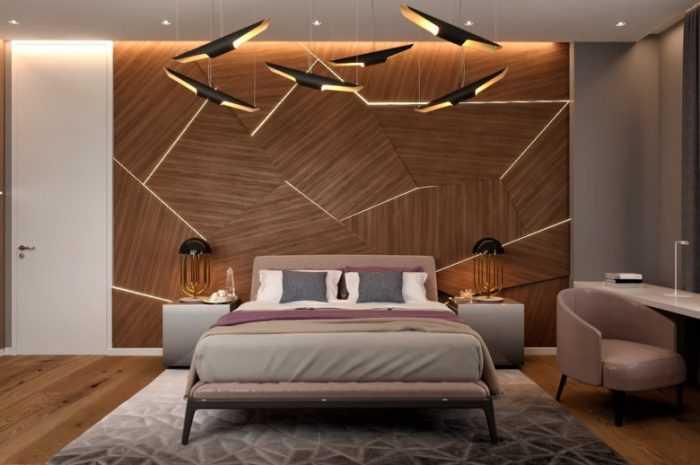 Как оформить спальню — лучшие варианты оформления комнаты с красивыми потолками, мебелью, ковриками и оригинальными стенами