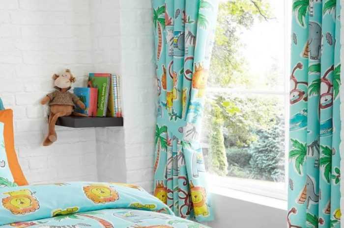 Как выбрать красивые шторы в детскую комнату: фото новинки коротких, длинных, Римских, рулонных штор в интерьере с описанием и советами