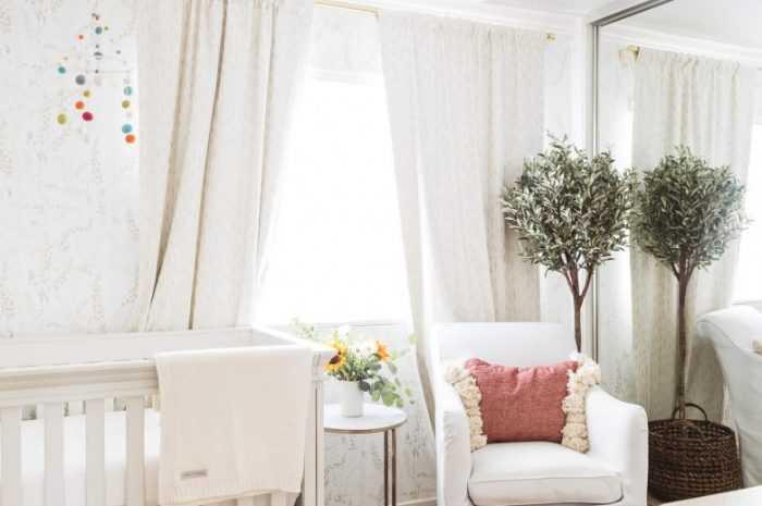 Комната для новорожденного — оборудование мебелью, планировка, обустройство с соблюдением параметров температуры и влажности.