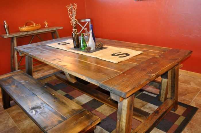 Как сделать кухонный стол своими руками: виды, формы и размеры разных моделей. Фото инструкции по производству и сбору моделей (125 примеров + видео)