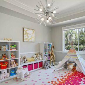 Люстра в детскую: правила выбора, особенности и отличия разных вариантов элементов освещения в интерьере