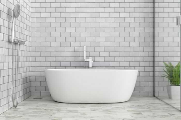 Кафельная, каменная или стеклянная плитка для ванной комнаты — лучшие советы по выбору и укладке. Видео обзор сочетания цвета в интерьере