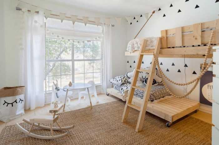 Потрясающий дизайн детской комнаты: инструкции по выбору обоев, штор и мебели. Варианты красивого сочетания цвета + обзор аксессуаров