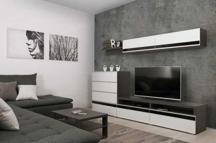 Современные гостиные: наилучший фото обзор красивой мебели и материалов отделки интерьера комнаты