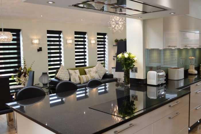 Замечательный современный дизайн кухни в стилях минимализма, хай-тек, кантри, лофт и эко. Фото стилей оформления интерьера