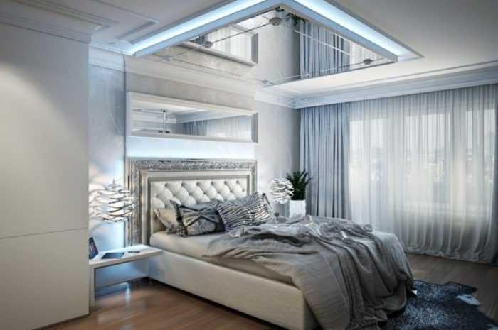 Удивительно красивая отделка спальни с подробным описанием стилей, видов мебели и аксессуаров