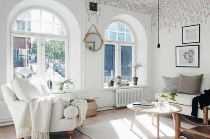 Белая гостиная — 125 фото красивых примеров и вариантов оформления гостиной белого цвета