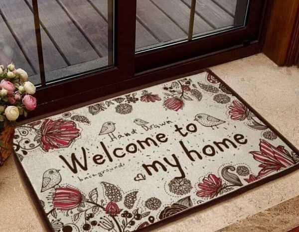 Коврик в прихожую — необычный дизайн с использованием прихожей и варианты применения ковров (155 фото)