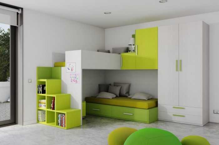 Красивая мебель для детской комнаты: новые тенденции при оформлении интерьера с фото/видео обзором и советами от лучших дизайнеров