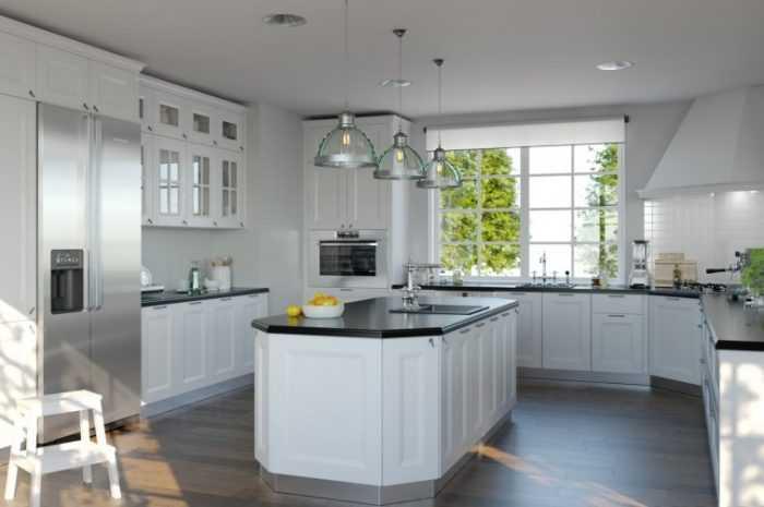 Акриловые кухни — особенности выбора акрила в дизайне интерьера. 175 фото готовых проектов и их применения