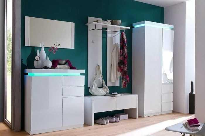 Мебель для прихожей: практичные интерьерные варианты оформления интерьера (160 фото)