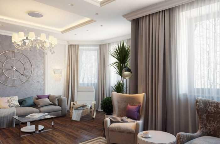 Шторы в гостиную: 120 фото и видео реальных примеров использования штор в дизайне интерьера
