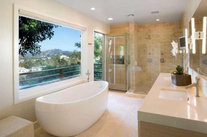 Современная ванная: 180 фото и видео описание как сделать и декорировать современную ванную