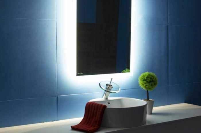 Как сделать зеркало с подсветкой своими руками: необходимые материалы, инструменты. Советы по выбору ламп и светодиодных лент