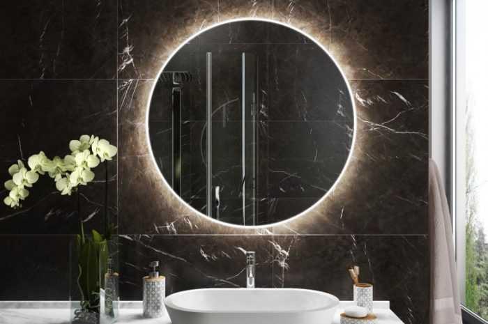 Зеркало в ванную: 150 фото и видео описание как выбрать лучшие модели зеркал под дизайн интерьера ванной