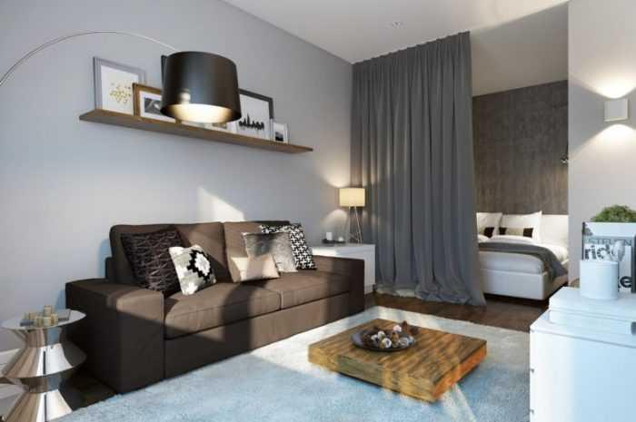 Зонирование гостиной — 145 фото и видео описание как распределить место в гостиной правильно
